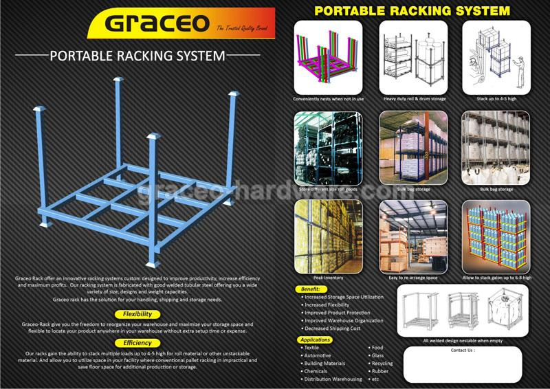 PORTABLE RACKING SYSTEM
